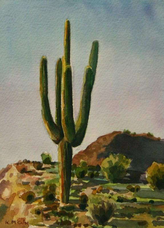 """Arms Wide Open"" original fine art by K.R. McCain"