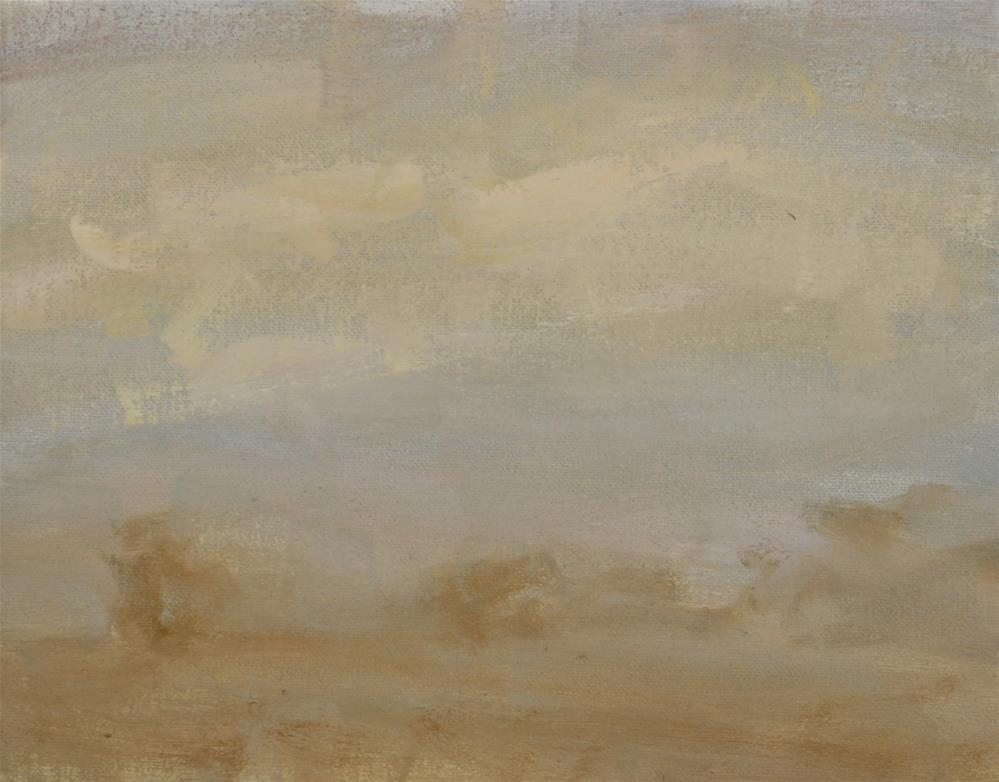 """Fog Sunrise"" original fine art by Scott Serafica"