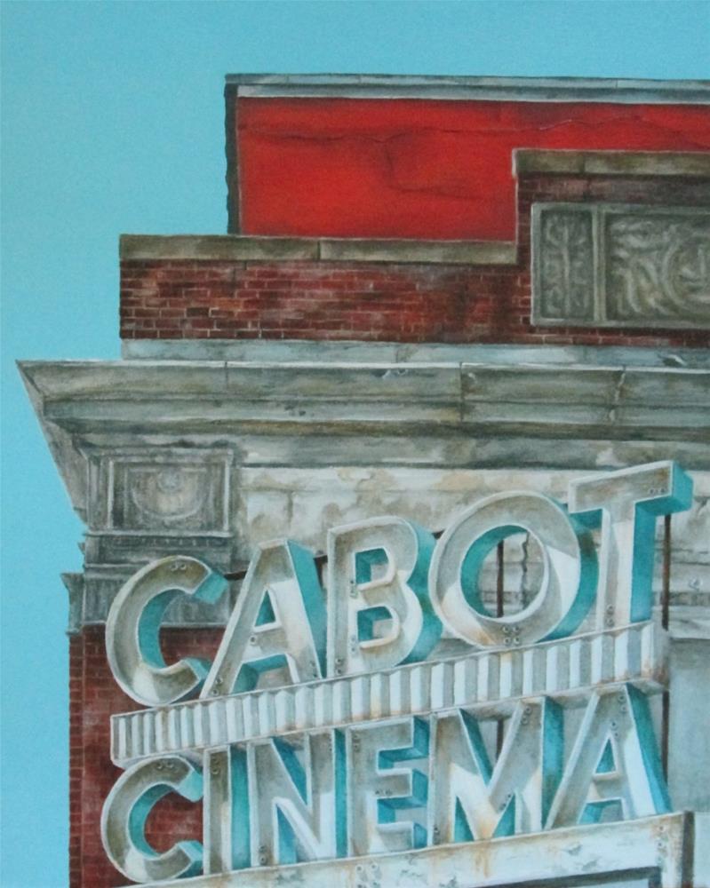 """The Cabot"" original fine art by Debbie Shirley"
