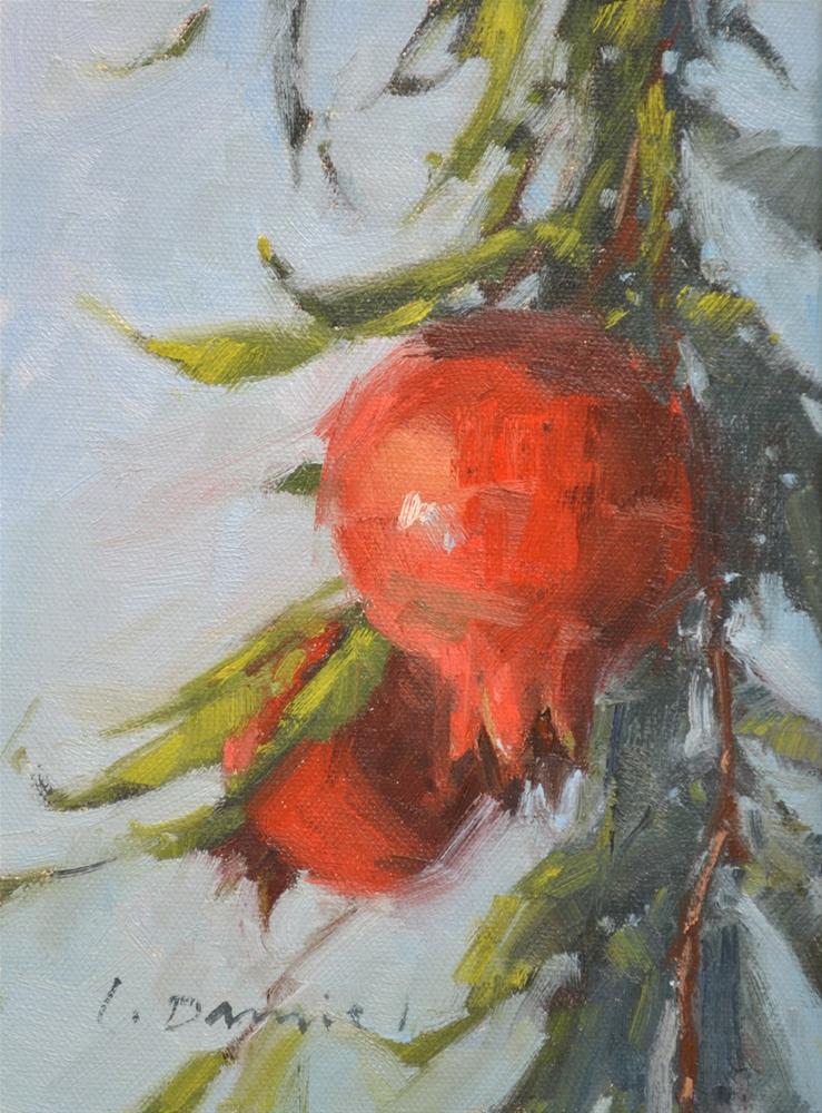 """""""Abundant Harvest (study) and a commission piece"""" original fine art by Laurel Daniel"""