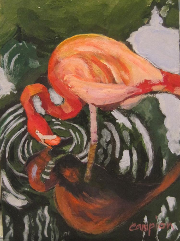 """Ripples"" original fine art by Diane Campion"