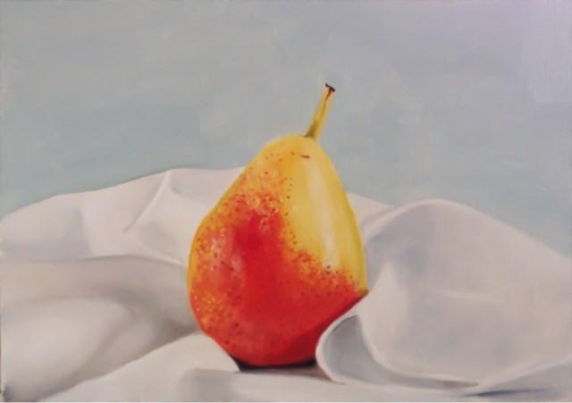 """Pear"" original fine art by James Coates"
