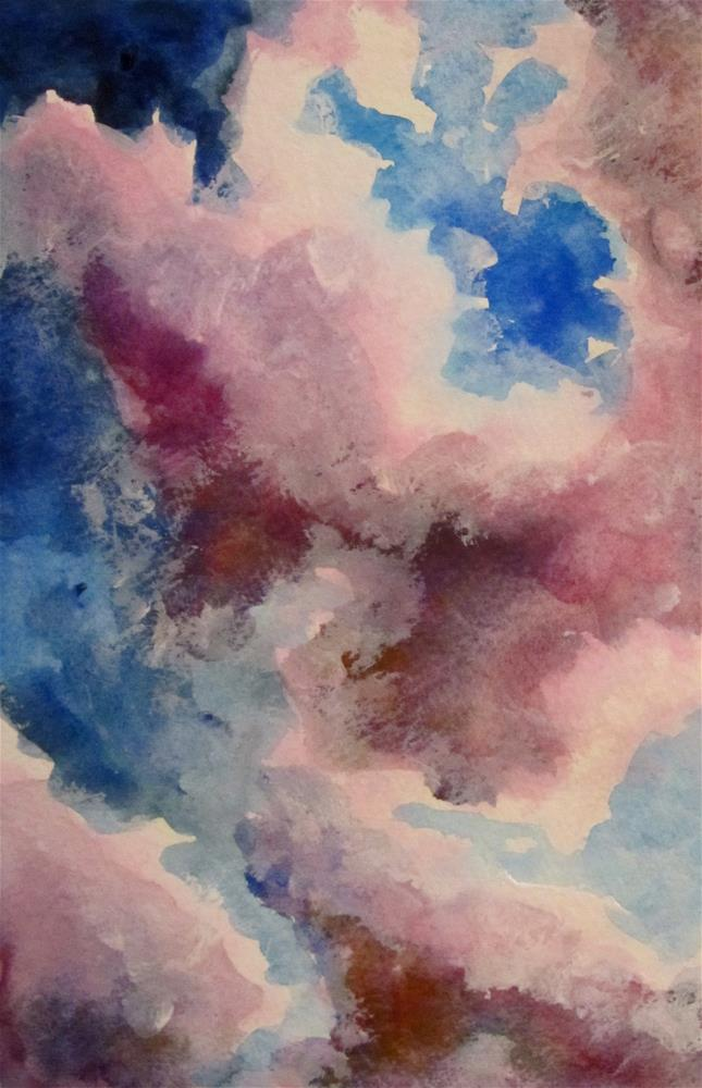 """Looking Up"" original fine art by Patricia MacDonald"