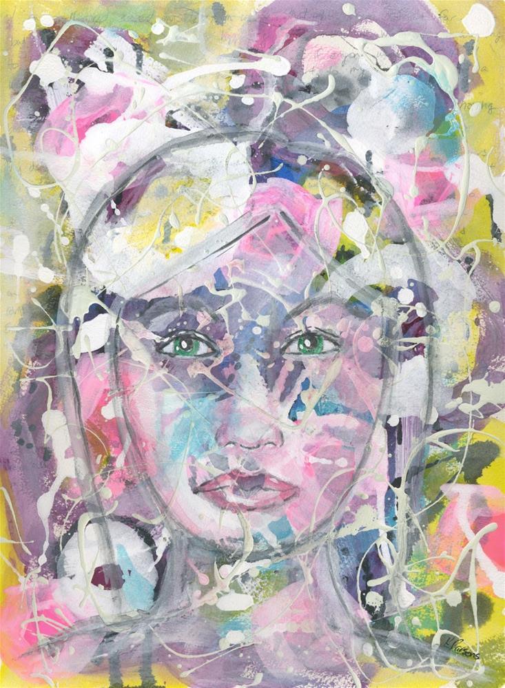 """Always in the Background"" original fine art by Kali Parsons"
