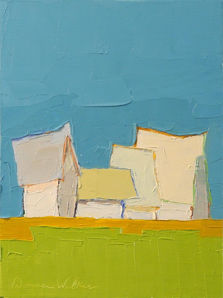 """Petite Symphony"" original fine art by Donna Walker"