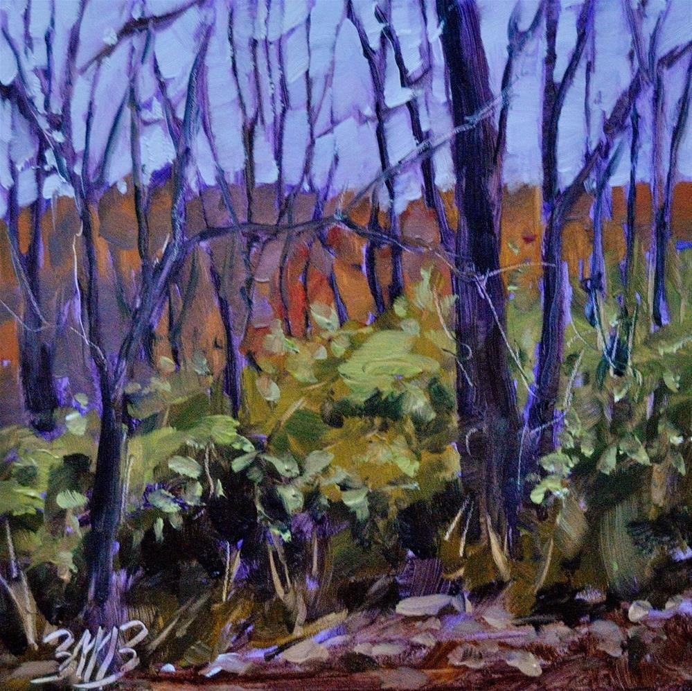 """""""Evening Calm"""" original fine art by Brienne M Brown"""
