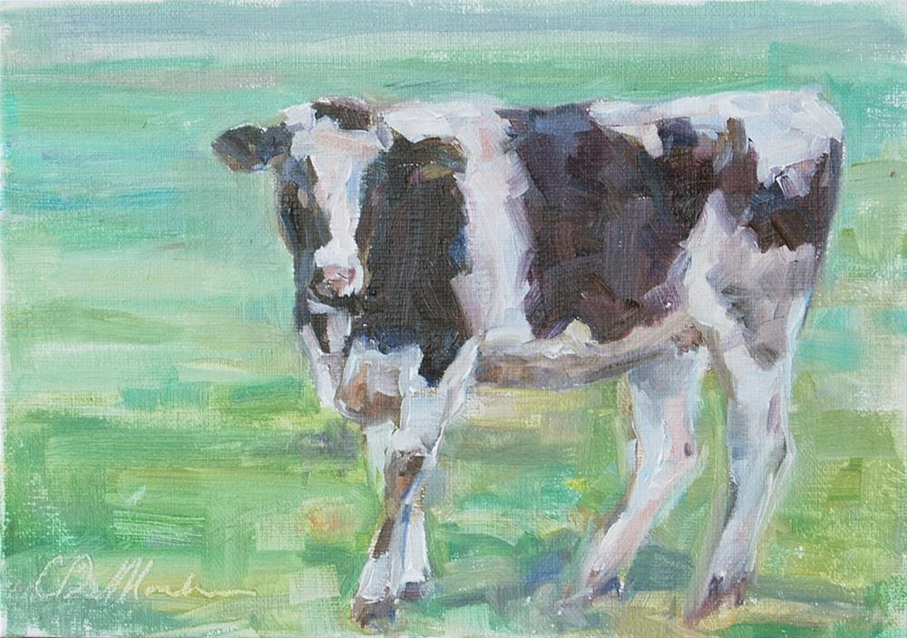 """Just a Country Girl"" original fine art by Carol DeMumbrum"