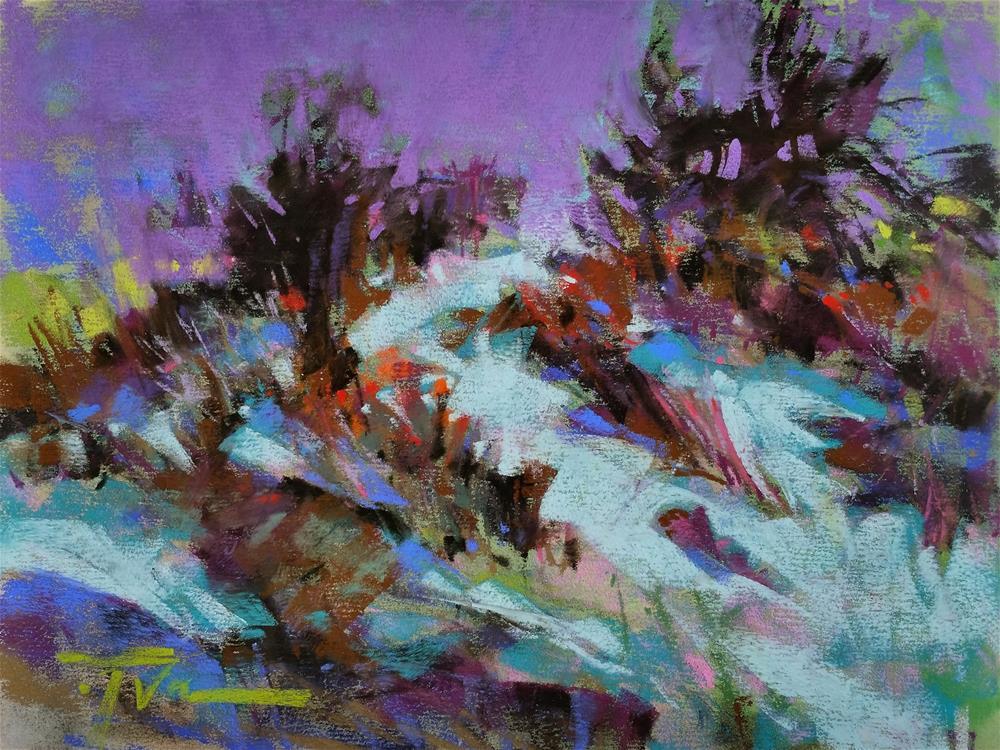 """""""Sage Symphony"""" original fine art by Jennifer Evenhus"""