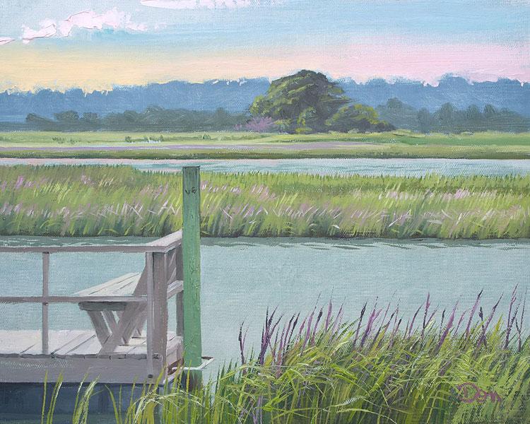 """Valerie's View from 59"" original fine art by Don Stewart"