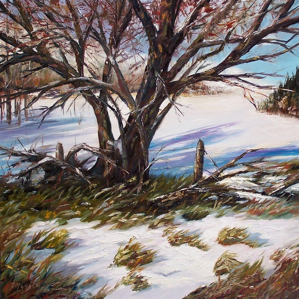 """""""First Snow"""" original fine art by Donna Munsch"""