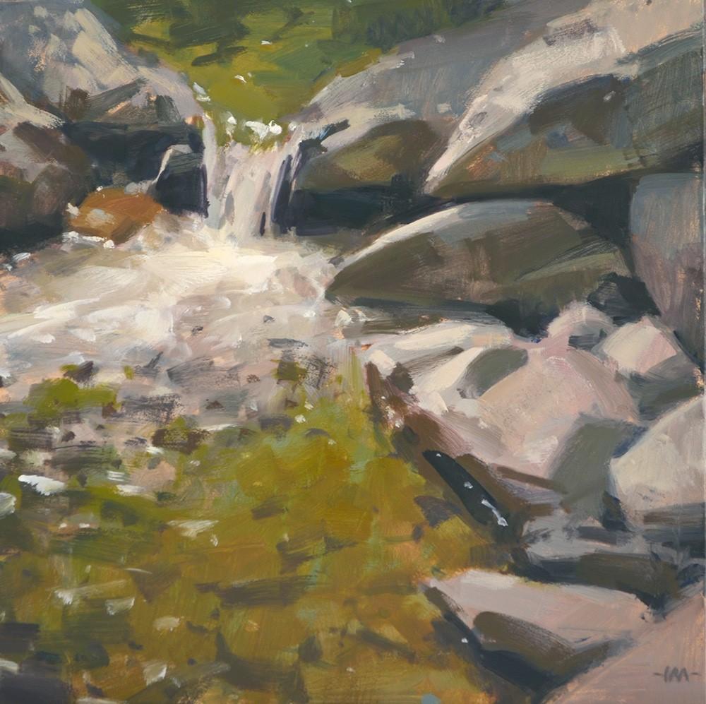 """Emerald Waters"" original fine art by Carol Marine"