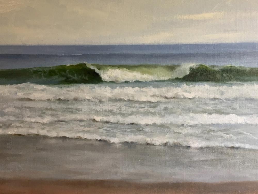 """""""Wave IV"""" original fine art by Michelle Garro"""