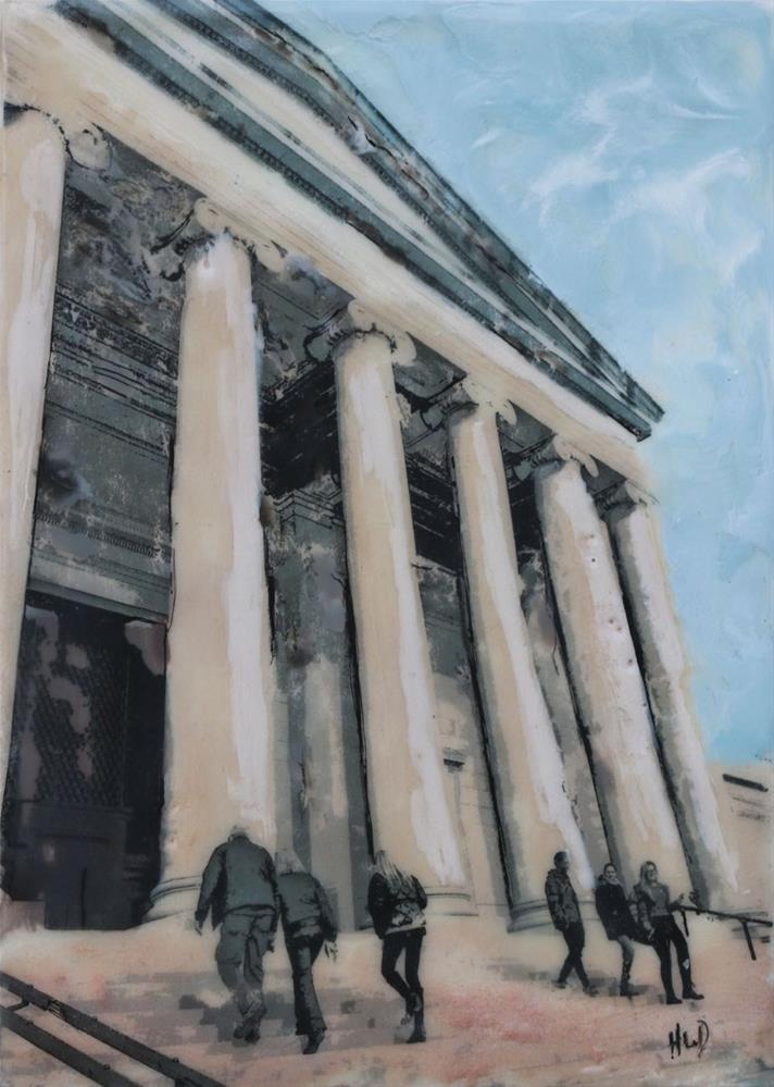 """National Gallery"" original fine art by Heather Douglas"