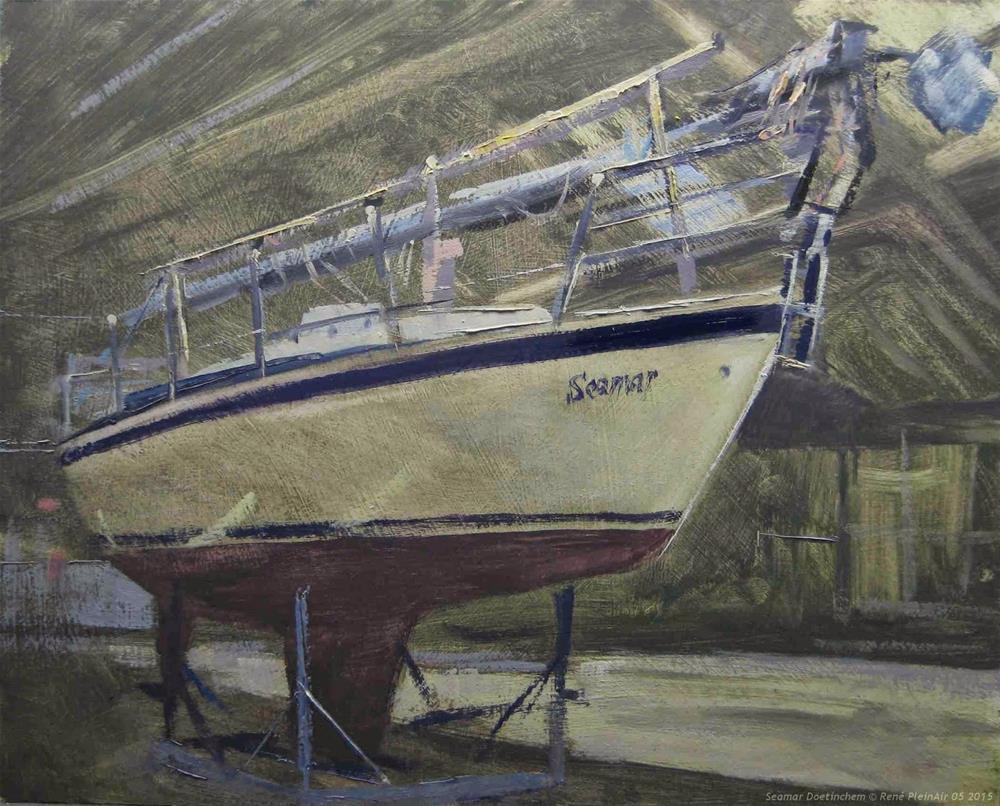 """Seamar. Doetinchem, The Netherlands."" original fine art by René PleinAir"