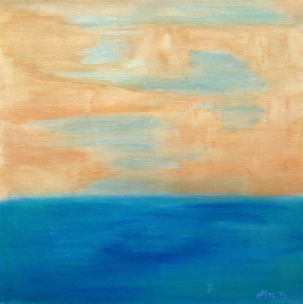 """Into The Sea"" original fine art by Alina Frent"