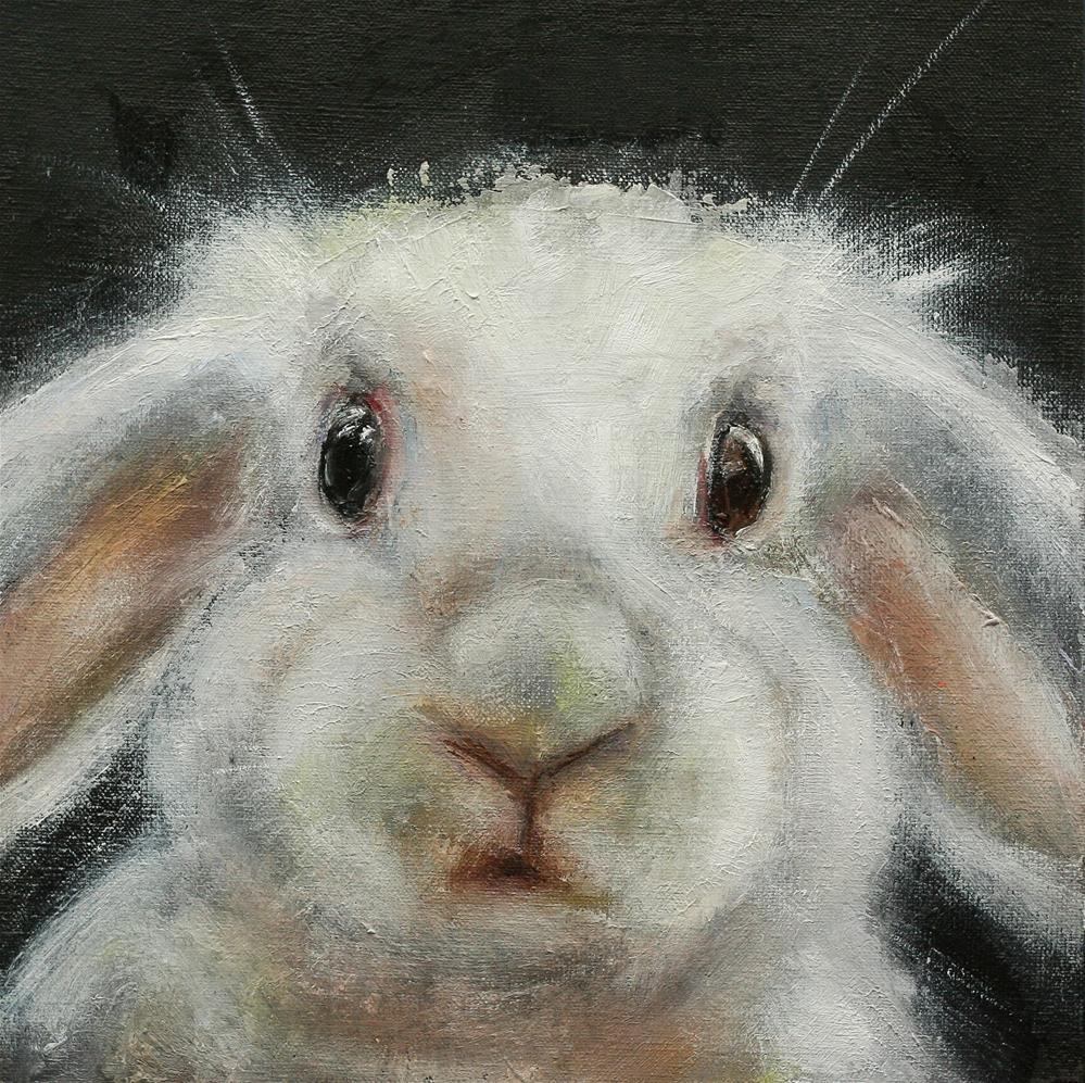 """Bunny"" original fine art by Alona M"