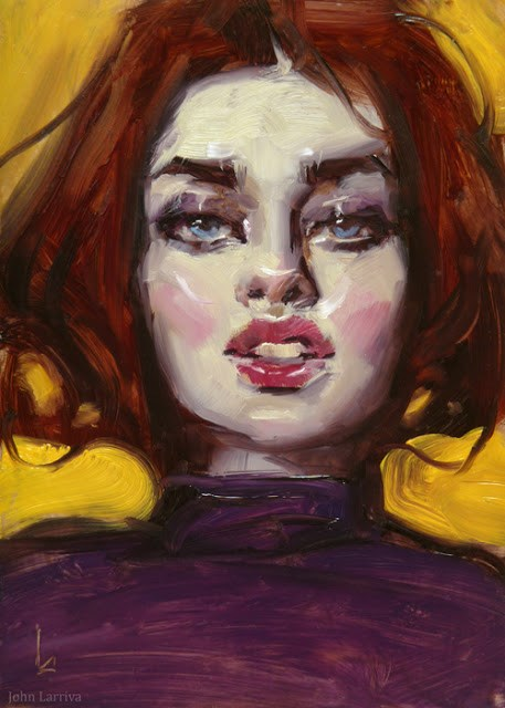 """Bop"" original fine art by John Larriva"