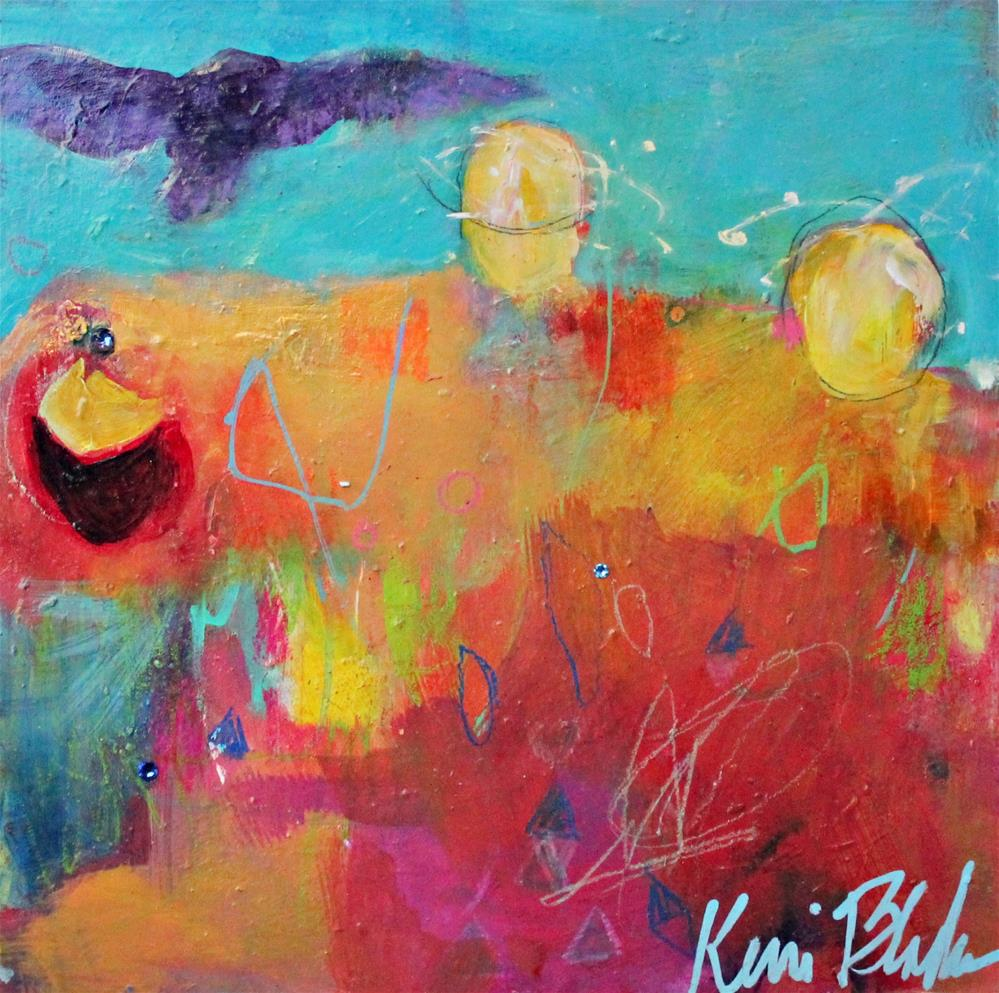 """""""Give the Owls a Place to Land"""" original fine art by Kerri Blackman"""