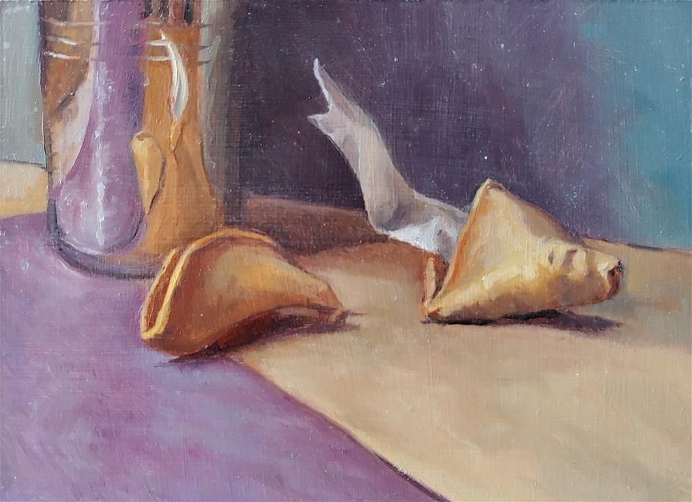 """Fortune 2"" original fine art by Ed Watson"