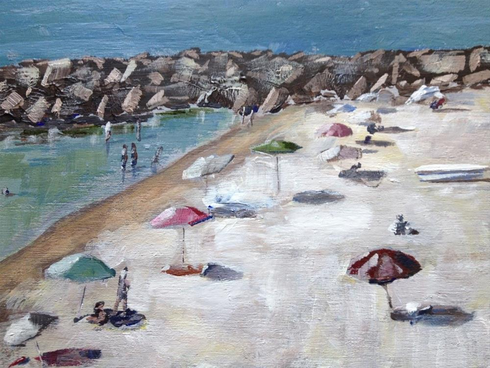 """Beach"" original fine art by Gary Bruton"