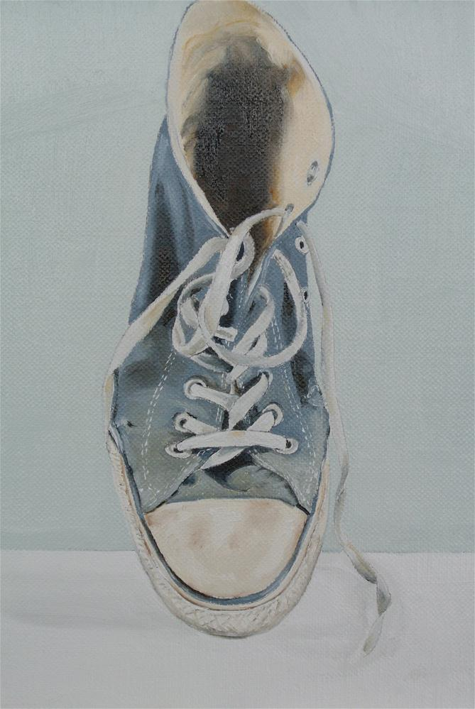 """Baseball Boot"" original fine art by James Coates"