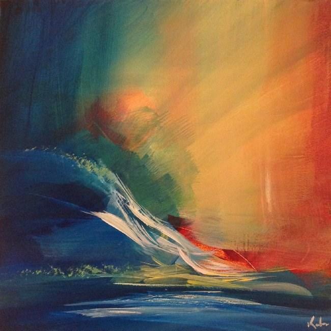 """Reshaping It All"" original fine art by David Kuhn"