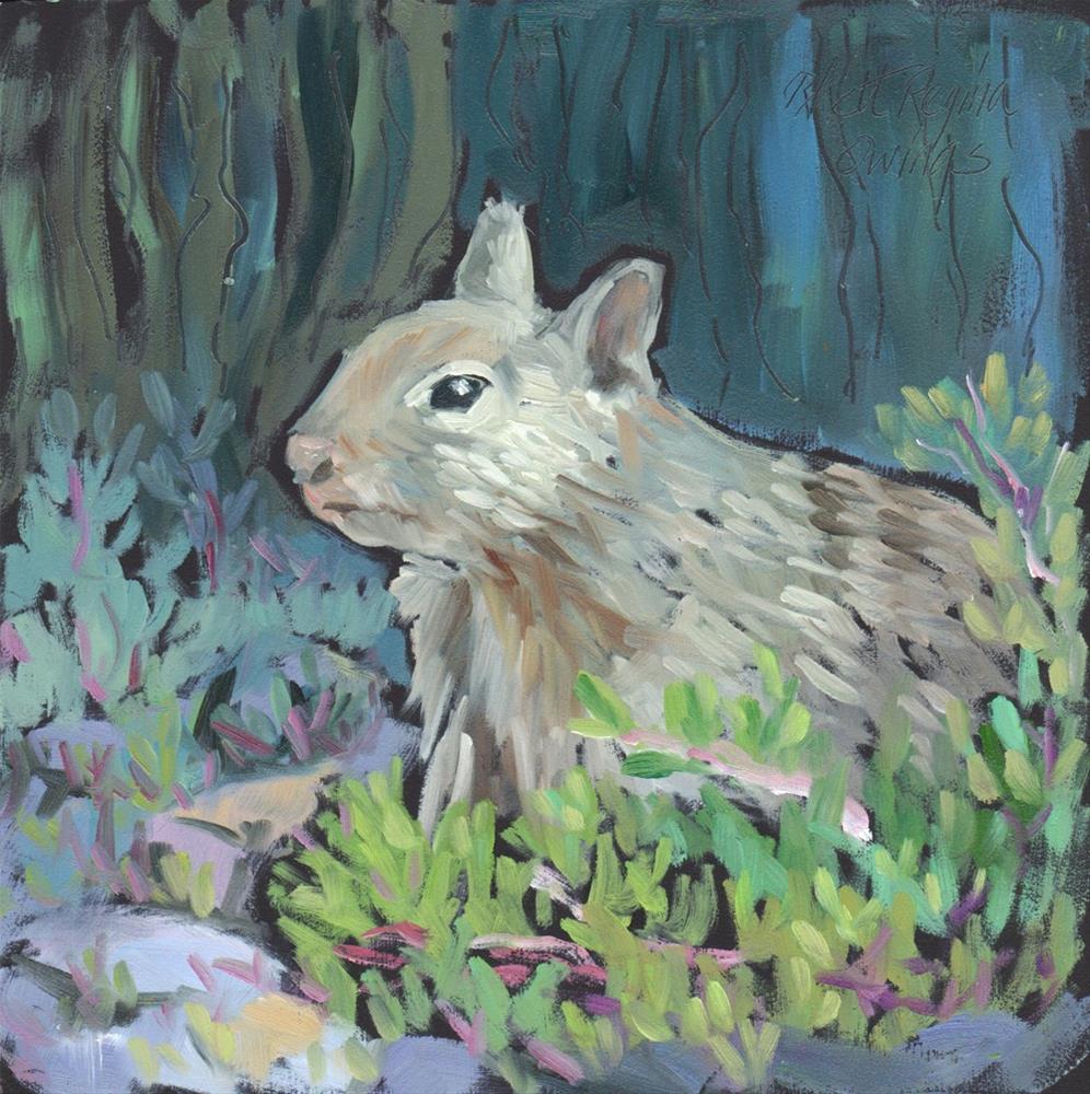 """In the Shadows"" original fine art by Rhett Regina Owings"