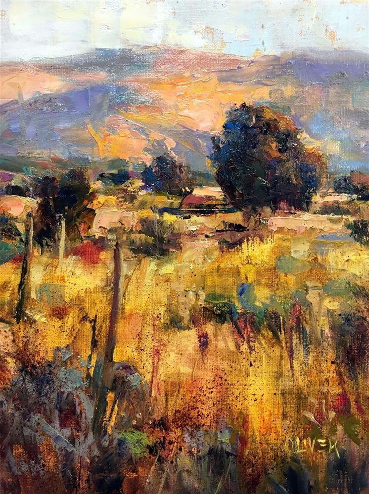 """""""Transparents in the Landscape"""" original fine art by Julie Ford Oliver"""