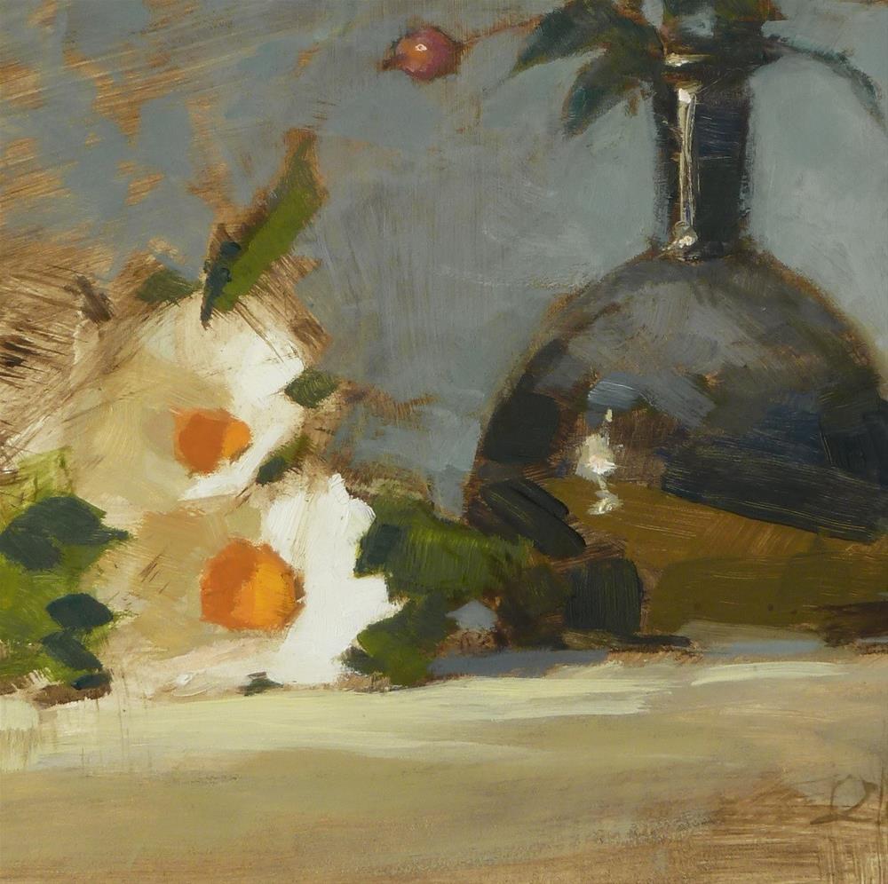 """Black Vase"" original fine art by Ron Ferkol"