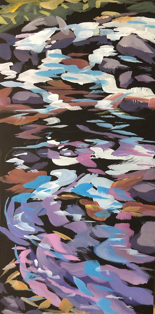 """Moving Water"" original fine art by Kat Corrigan"