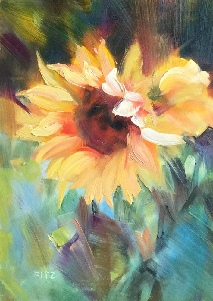 """Golden Crowns"" original fine art by Charlotte Fitzgerald"