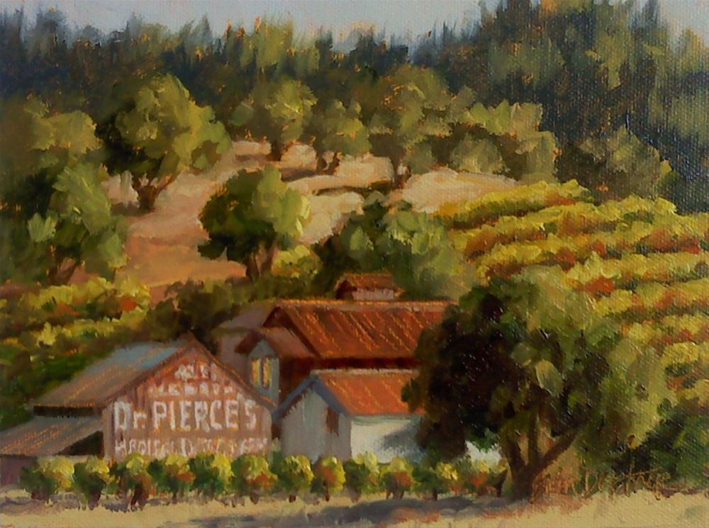 """Dr. Pierce's Medical Discovery"" original fine art by Erin Dertner"