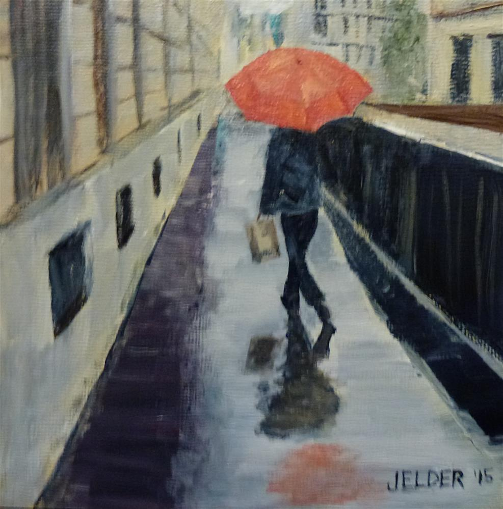 """Paris No. 93"" original fine art by Judith Elder"
