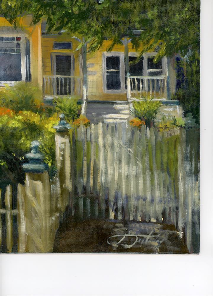 """Matheson Street, Healdsburg CA"" original fine art by Janet Setterland"
