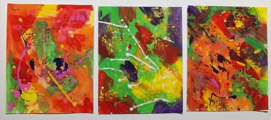 """Ain't Gonna Paint No More"" original fine art by Elaine Ford"