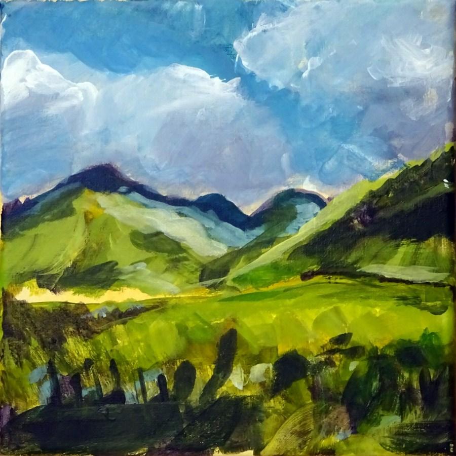 """""""1882 Land Demo"""" original fine art by Dietmar Stiller"""