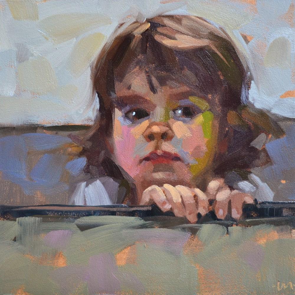 """""""Curious"""" original fine art by Carol Marine"""