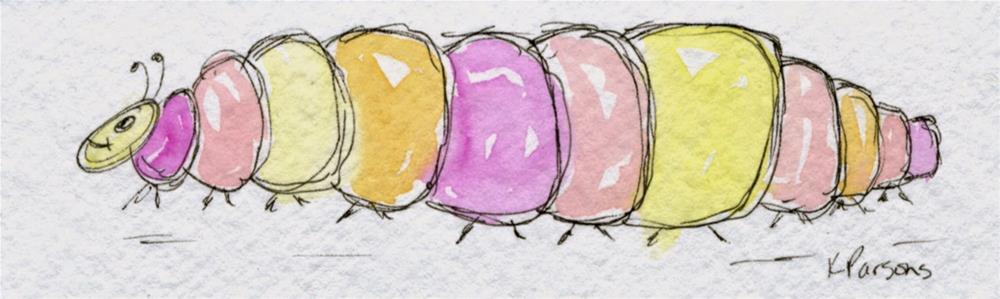 """Gone Buggy"" original fine art by Kali Parsons"
