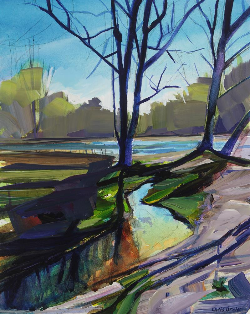 """Early Spring"" original fine art by Chris Breier"