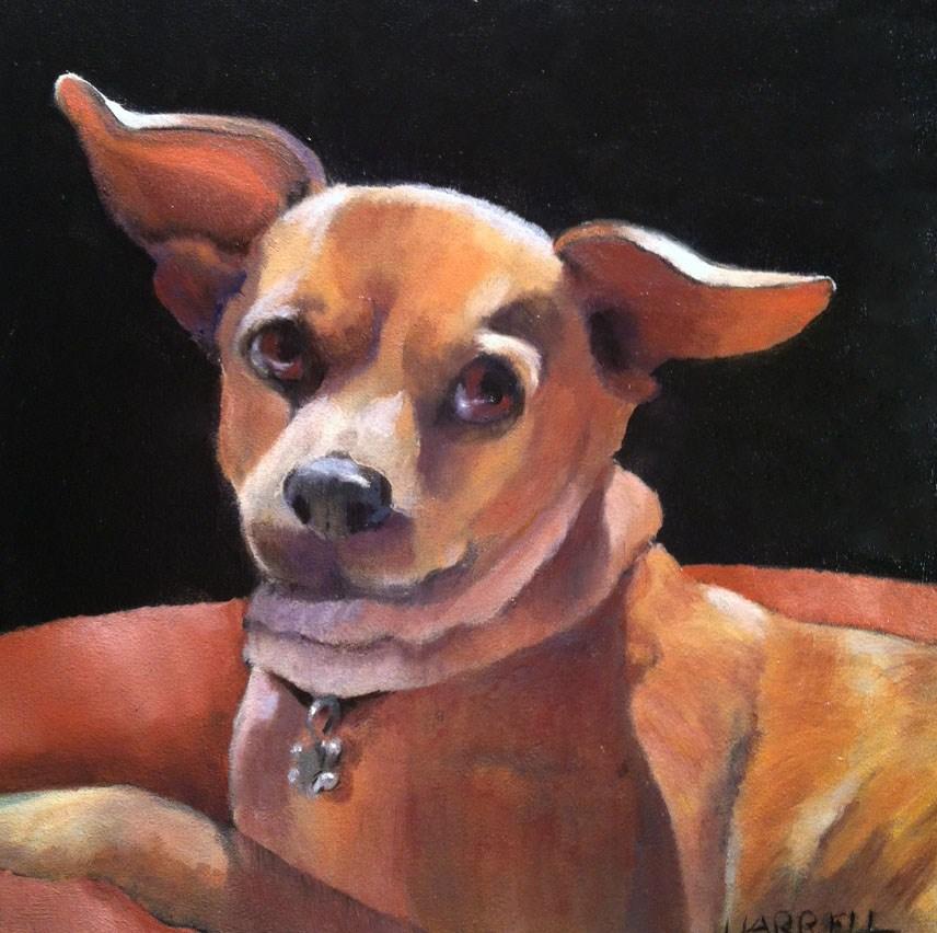 """""""Ellie"""" original fine art by Sue Harrell"""