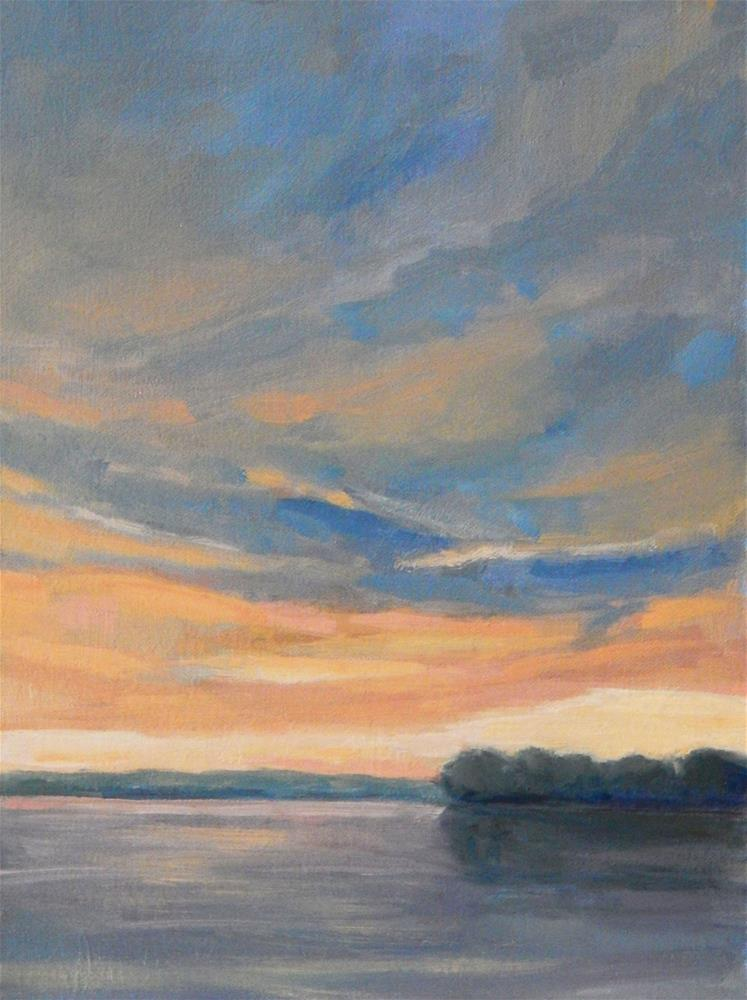 """After the Dawn"" original fine art by Lisa Kyle"
