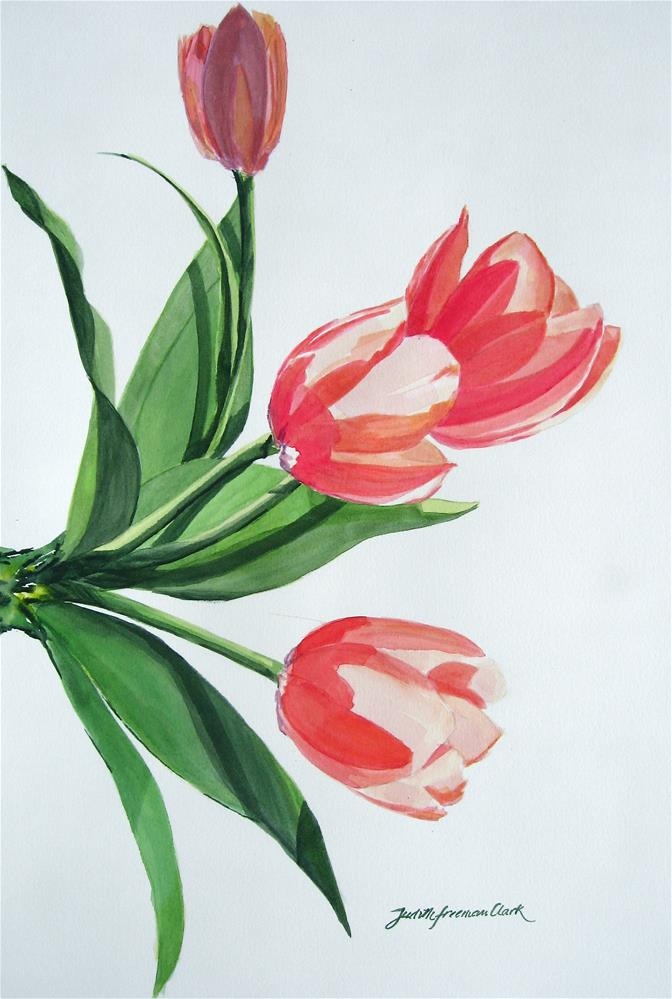 """Exuberance"" original fine art by Judith Freeman Clark"