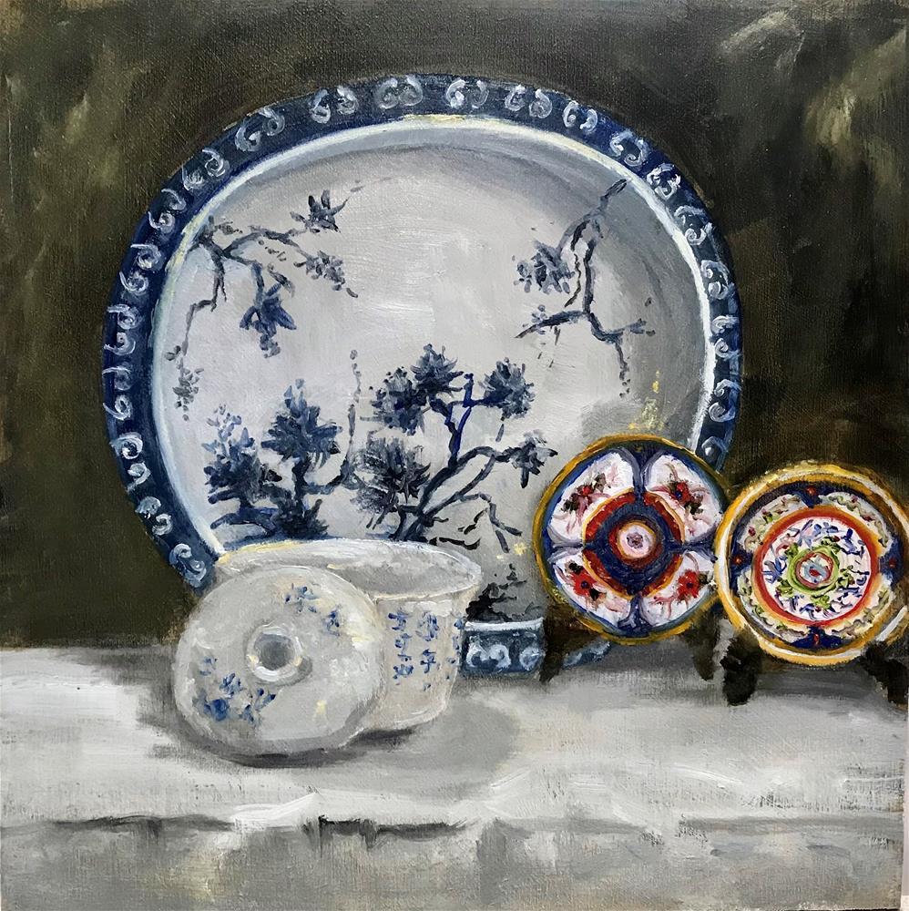 """Japanese bowl"" original fine art by Betty Argiros"