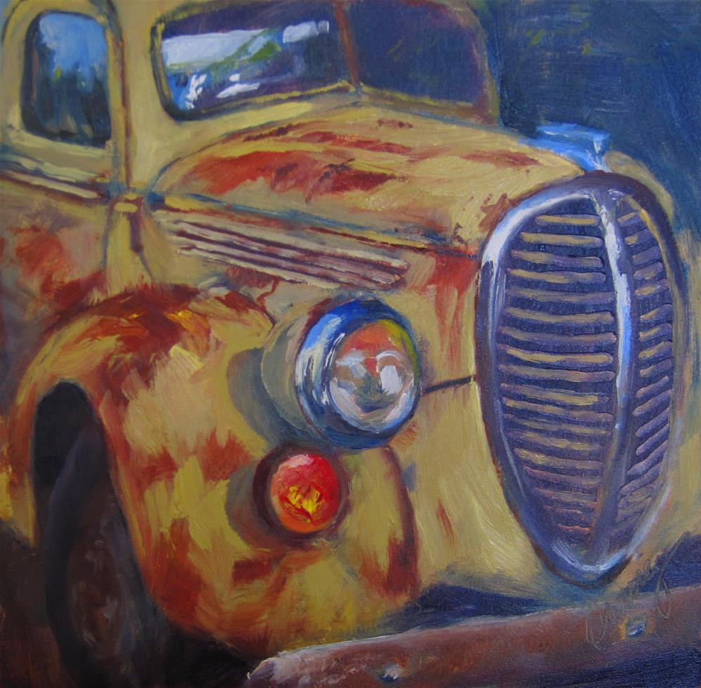 """""""Age Spots"""" original fine art by Sharman Owings"""