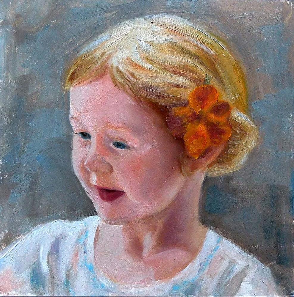 """Almost Five"" original fine art by Cietha Wilson"