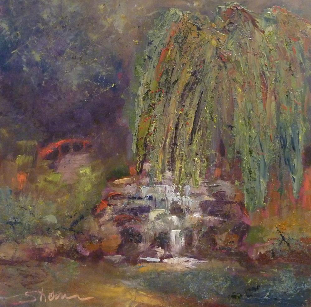 """""""Japanese Gardens"""" original fine art by Shawn Deitch"""