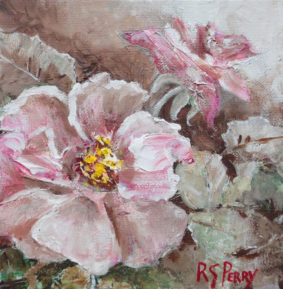 """Summer Rose "" original fine art by R. S. Perry"