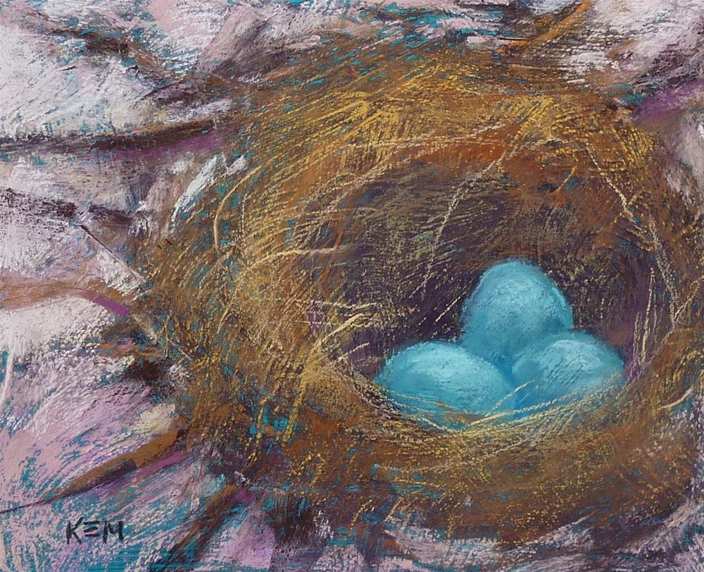 """Signs of Spring"" original fine art by Karen Margulis"