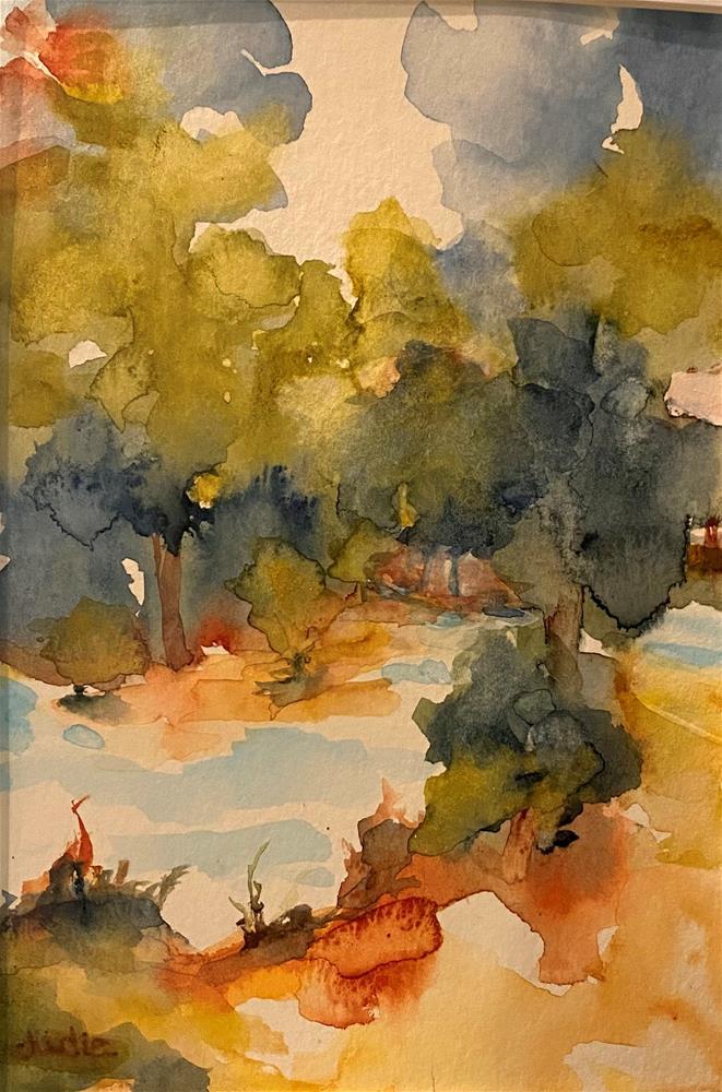 """TAKE ME TO THE RIVER"" original fine art by Judie Mulkey"