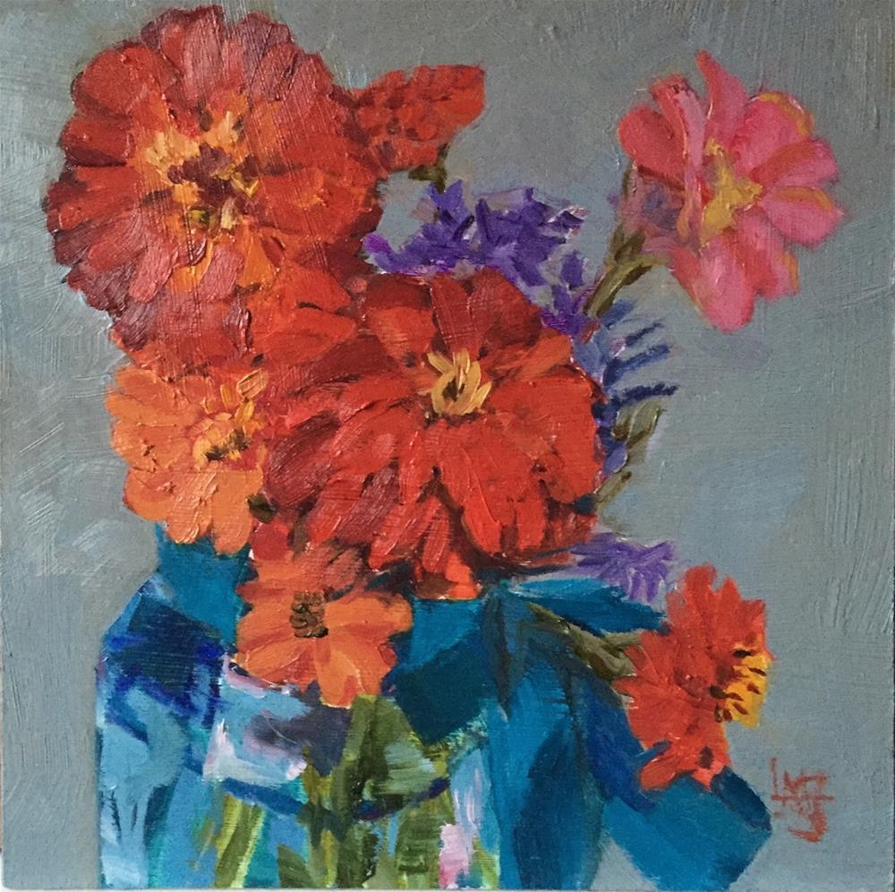 """Picked Fresh from My Garden for Y O U"" original fine art by Libby Gilpatric"